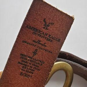 American Eagle Outfitters Accessories - American Eagle Outfitters Heart Leather Belt SZ S